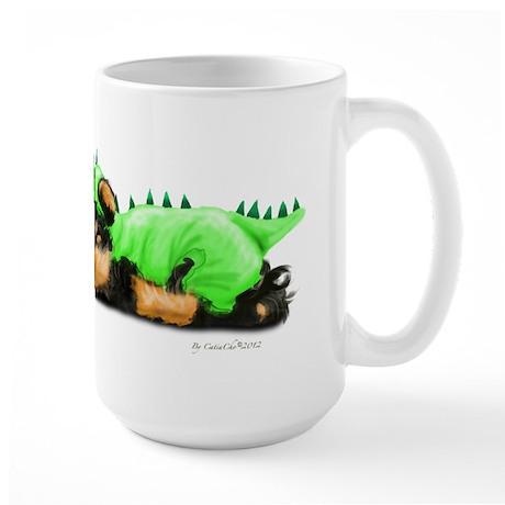 Yorkie Dragon Mug