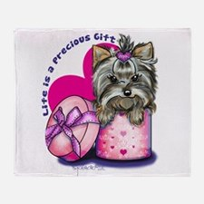 Life is a Precious Gift Throw Blanket