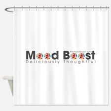 Mood Boost Logo Shower Curtain