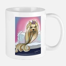 Yorkie Rapunzel Mug
