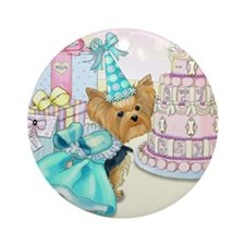 Millie Birthday card.png Ornament (Round)