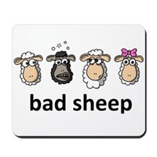 Bad sheep Mousepad