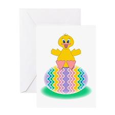 Easter Duckie Greeting Card