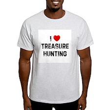 I * Treasure Hunting Ash Grey T-Shirt