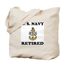Retired Navy Senior Chief Tote Bag