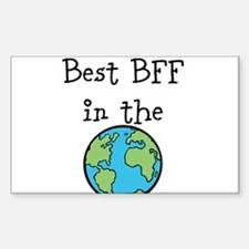 Best BFF in the world Decal