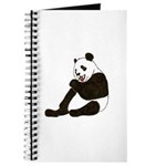 PANDA BEAR WITH A LOLLY POP Journal