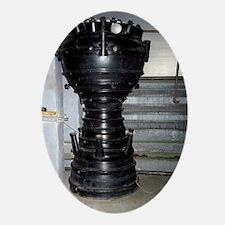 R-1 Soviet rocket engine - Oval Ornament