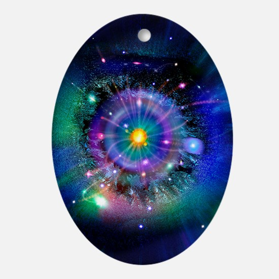 Space-time gateway - Oval Ornament