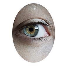 Woman's eye - Oval Ornament