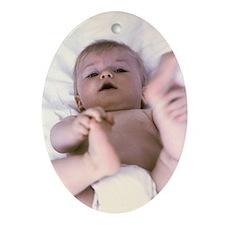 Baby boy - Oval Ornament