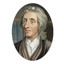 John Locke, English philosopher - Oval Ornament
