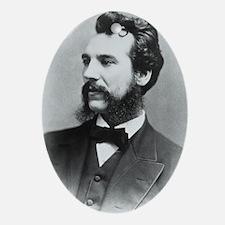 Portrait of Alexander Graham Bell - Oval Ornament