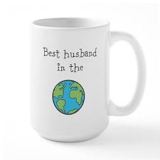 Best husband in the world Mug