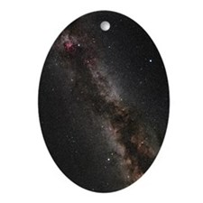 Cygnus, Lyra and the Great Rift - Oval Ornament