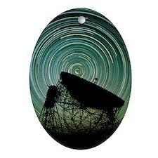 Jodrell bank radio telescope - Oval Ornament
