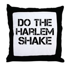 Do the Harlem Shake Throw Pillow