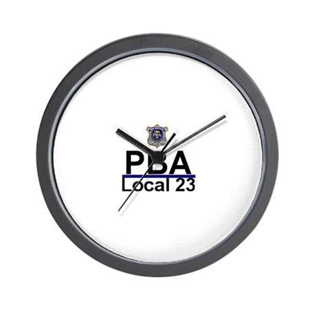 PBA Logo Wall Clock