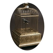 Music box - Oval Ornament