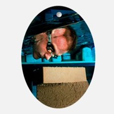 Waterproof bricks - Oval Ornament