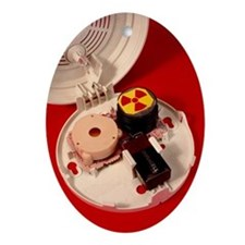 Smoke alarm components - Oval Ornament