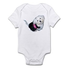 Cute Coton de tulear art Infant Bodysuit