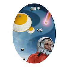 Gagarin's return to Earth, 1961 - Oval Ornament