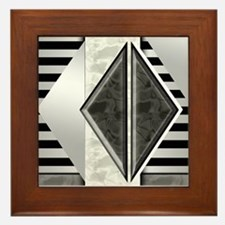 Art Deco: Retro Darade | Framed Tile