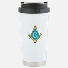 Simple Masonic Travel Mug