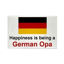 Happy German Opa (Grandpa) Rectangle Magnet