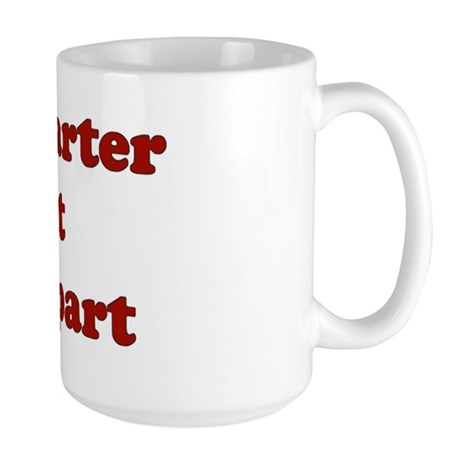 Quilting humor Large Mug