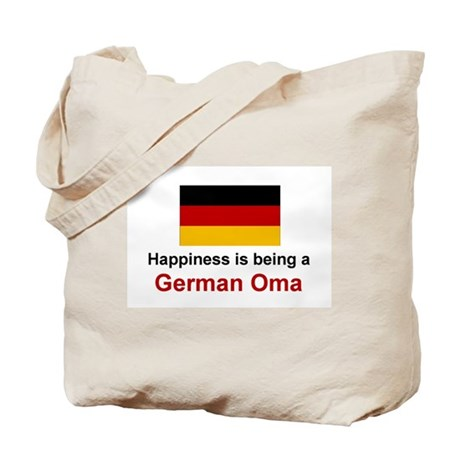 Happy German Oma Tote Bag