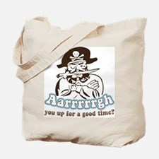 Arrrrgh Funny Pirate Tote Bag