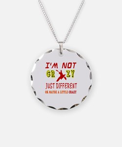 I'm not Crazy just different Kayaking Necklace