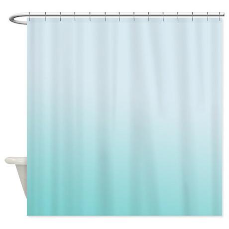 Aqua Shower Curtain Rings