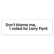 Larry Flynt Bumpersticker
