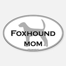 Foxhound MOM Oval Decal