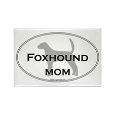 Foxhound MOM Rectangle Magnet