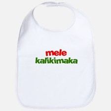 Mele Kalikimaka - Hawaii Bib
