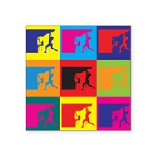 Climbing Pop Art Sticker