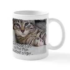 God Made Cats...2-sided Mug