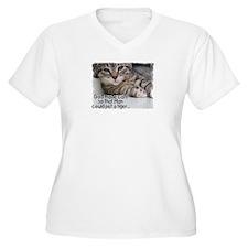 God Made Cats... T-Shirt