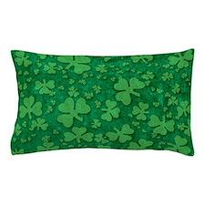 Shamrock Pattern Pillow Case