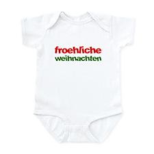 Froehliche Weihnachten Infant Bodysuit