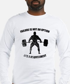 Failure Is Not An Option It's A Requirement Long S