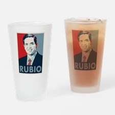 Marco Rubio Drinking Glass