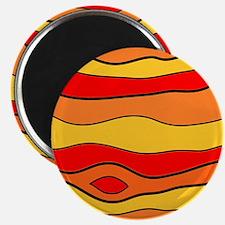 Cartoon Jupiter kids Science Astronomy Magnet