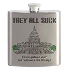 """""""I approved this message."""" Flask"""