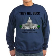 """I approved this message."" Sweatshirt"