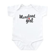 Maryland Girl Infant Bodysuit
